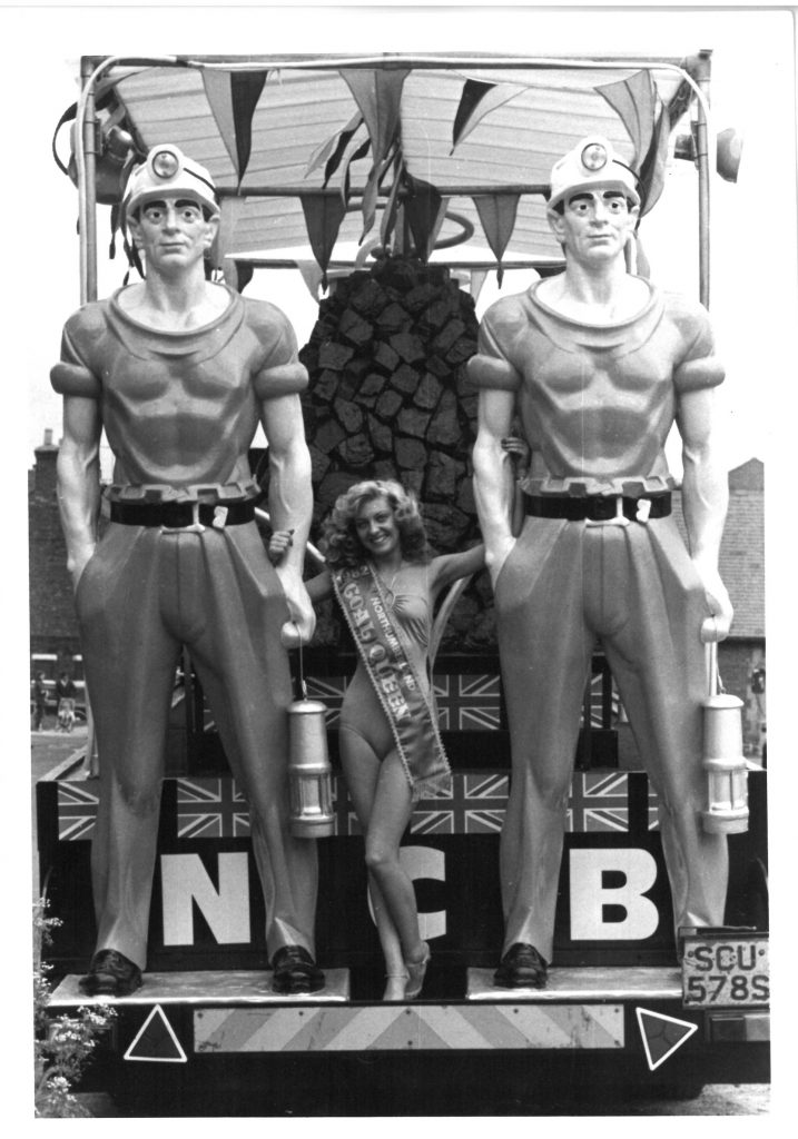 Queens of Industry, Northumberland Coal Queen Deborah Bramley 1982