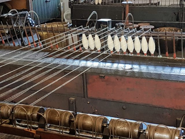 Kinderarbeit in den Yorkshire Mills