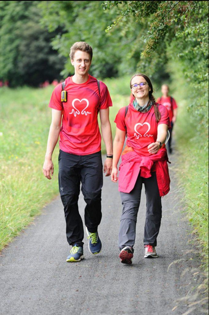 103 km beim Walking Challenge Glasgow-Schottland - 23 Stunden durch Tag und Nacht
