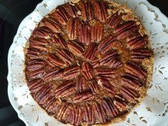 Torte mit Pecannüssen