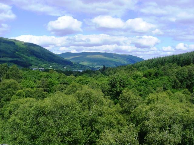 Aussicht auf dem Weg von Strathyre nach Lochearnhead