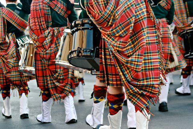 schottische Band