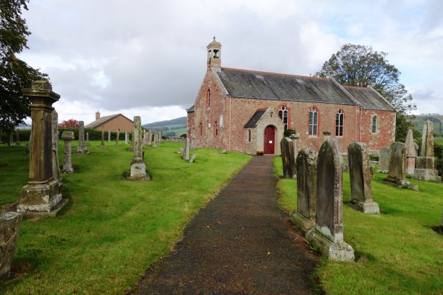 Kirche Friedhof