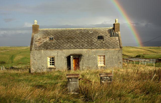 Haus Regenbogen Gras